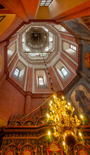 Inside Tower Of St Basil's Moscow