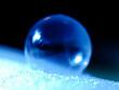 gefrorene Seifenblase