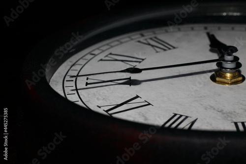 Fototapeta Zegar połowa tarczy