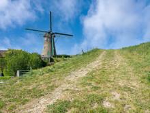 Windmill De Lelie In Puttershoek Was Built In 1836
