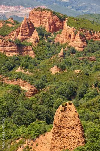 Roman antique gold mine in Spain. Las Medulas. Castilla y Leon