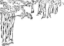 雑木林(背景用)