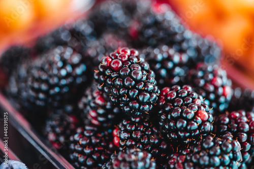 Fotografie, Obraz blackberry