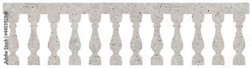 Fotografiet Classic balustrade - seamless pattern concept image on concrete background usefu