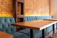 Couch And Tables In Bar