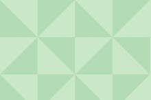 Geometric Illustration In Green Color