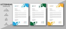 Creative Letterhead Template Design