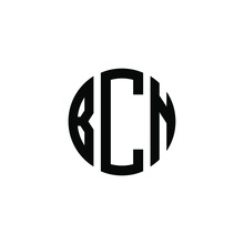 BCN Letter Logo Design. BCN Letter In Circle Shape. BCN Creative Three Letter Logo. Logo With Three Letters. BCN Circle Logo. BCN Letter Vector Design Logo
