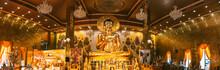 Kanchanaburi Temple In Thailand