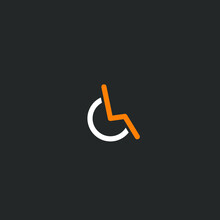 Vector Disabled Person Icon In Wheelchair