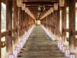 大晦日の奈良長谷寺の登廊