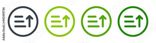 Tela Sorting list icon