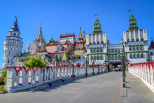 Izmailovo Kremlin Architecture In Moscow
