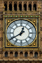 Close Up Of Big Ben In London
