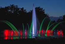 Fontanna W Legnickim Parku Miejskim