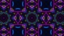 Concert Neon VJ Light Kaleidoscope