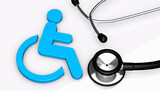 Disability Health Care Disabled Medical Assistance Concept