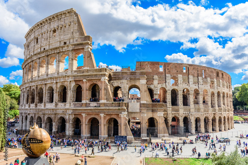 Roman and Italian Architecture and Monuments Fototapete