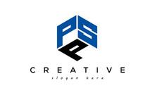 Letter PSP Creative Logo Design Vector
