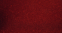 Closeup Shot Of A Sparkly Red Surface For Wallpapers