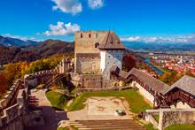 Castle In Celje City