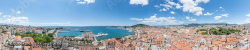Fotografia Panorama von Split, Kroatien.