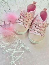 Shoes On Pink Background