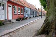 Altstadt - Häuser In Einer Reihe