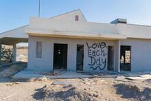 Abandoned Ruins In Mojave Desert On Public Land California