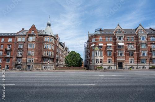 H. C. Andersens Boulevard Buildings - Copenhagen, Denmark. Fototapet