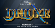 Editable Text Style Effect - Deluxe Text Style Theme.