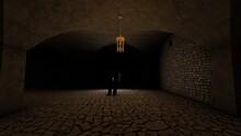 Dark Scary Basement