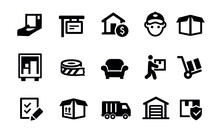 Moving Icons Vector Design
