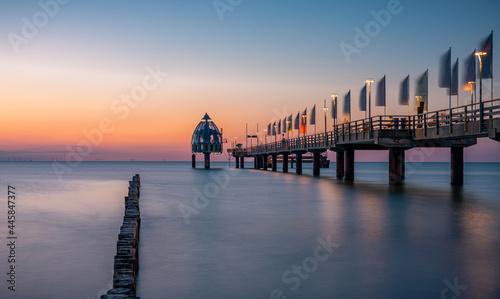 Fotografiet Zingst an der Ostsee in Deutschland