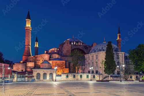 Canvastavla The Hagia Sophia
