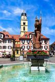 Bad Mergentheim, Innenstadtszene