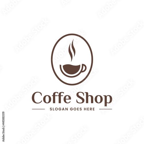Obraz na plátně Coffee logo