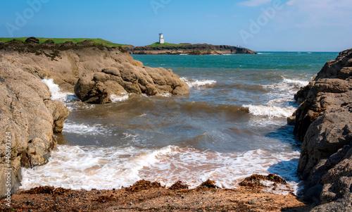Fotografie, Obraz Ellie Ness Lighthouse,Elie and Earlsferry,Fife, Scotland, UK Colour