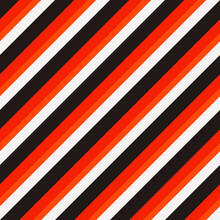 Red And Black Diagonal Stripes. Seamless Vector Lines Wallpaper.
