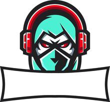 Template Ninja Gaming Mascot Vector Ready To Use