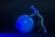 syzyf kula blue figurka człowiek tajemnica