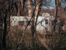 Old Abandoned Camper