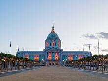 Twilight View Of The San Francisco City Hall