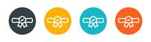 Diploma Degree Icon Vector Illustration. University Graduation Symbol. Education Certification Concept
