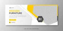 Modern Furniture Web Banner Template