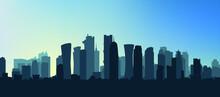 Vector Illustration Of City Skyline Eps 10