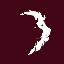 Two Lion Logo Design Concept