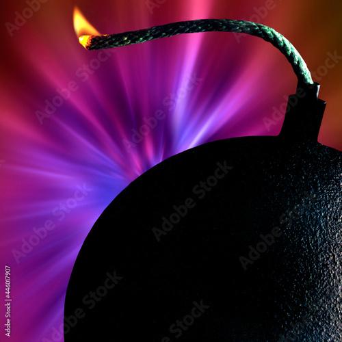 Obraz na plátně Explosive device