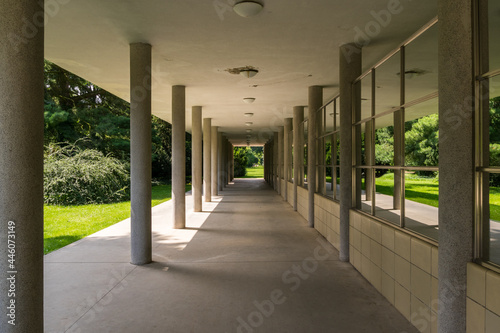 Spa colonnade in Podebrady, Czechia Fototapet
