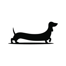 Black And White Popular Vector Icon, Home Pet, Dog And Cat, Dachshund, Husky, Entrance For Animals, Animal Steps, Paw, Pet House, Grooming
